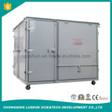 Lushun Zrgサービス機械をリサイクルする多機能のガス抜き処理の真空の無駄の潤滑油