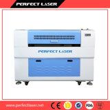 CO2 Laser-Ausschnitt-Maschinen-Preis des hölzernen Zeichen-Stiches und der Ausschnitt-Maschine