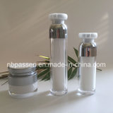 Popular Silver Acrylic Cream Container Jar Lotion Bottle (PPC-NEW-169)
