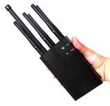 소형 6 안테나 2g 3G 4G 이동할 수 있는 셀룰라 전화 GPS 신호 방해기