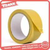 Cinta impresa personalizada PVC blanco, en relieve la cinta del conducto