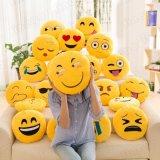 De zachte Hoofdkussens van Emoji van het Speelgoed van de Pluche van de Baby van het Kussen van de Baby Jonge geitjes Gevulde