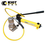 Único tipo entalhado de atuação cilindro hidráulico com a bomba de mão hidráulica