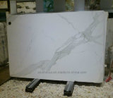 Calacatta 자연적인 돌 백색 대리석 도와 또는 싱크대 또는 석판 또는 마루