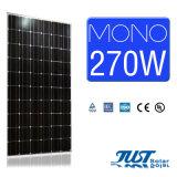 Mono pile solari 270W 60cells con Ce, certificati delle merci di riserva di TUV