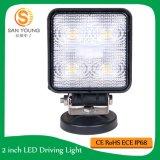 4inch 15W LED 일 백색 반점 플러드 광속 사각 LED 일 빛 Offroad SUV ATV 트럭 배