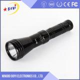 Linterna ligera fuerte del LED, la mayoría de la linterna de gran alcance del LED