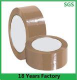Claro y marrón BOPP cinta adhesiva de embalaje / Cinta OPP