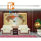 programma politico del grande mondo di rame di lusso di formato di 2000X1450mm, programma di mondo decorativo