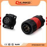 Aprovação Cnlinko TUV/UL/CABO DE SOLDADURA CCC IP65 debaixo de água de alimentação/IP67 Conector da Luz de LED do conector