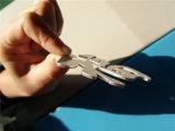 tagliatrice del laser della fibra del metallo dell'acciaio inossidabile di CNC 300W-4000W