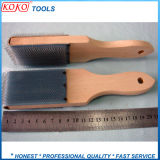 Деревянная ручка иглы ткань стали файл щетки