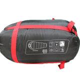 屋外のキャンプのUltralight大人の空のファイバーのミイラの寝袋