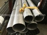 pipe soudée d'acier inoxydable de 304 316 tubes d'Inox