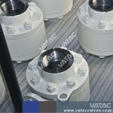 Acero forjado de la presión hidráulica de alta presión válvula de bola para que el aceite