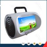 Bunter beweglicher Boombox DVD-Spieler Großhandels7.5inch LCD Spieler-Qualitäts-USB-Fernsehapparat-
