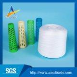 hilados de polyester del bordado 40s para el hilo para obras de punto que teje de Factory