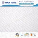Tissus 100% blancs de matelas de polyester