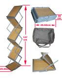 Estantes de compartimiento de aluminio plegables capas