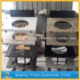 Сборные белый/желтый/Geallo кухня конструкций с гранитными и мраморными столешницами (G664, G439, G655, G682)