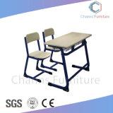 Nützlicher weißer Tisch-Oberseite-Zweifel setzt Kursteilnehmer-Tisch für Schule-Klassenzimmer (CAS-SD1809)
