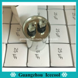 конденсатор конденсатора бега 450V конденсатора старта раковины 25UF Cbb65 алюминиевый Cbb65