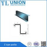 Canaleta de aço de Z para a construção de aço Buidling