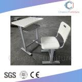 Diseño tradicional de dos asientos Stuedent Tabla con cajón dividido (CAS-SD1816)