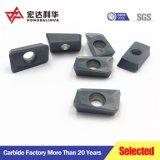 Inserti di giro cementati del carburo di CNC per i tagli del metallo