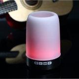 Multifunktionsblinkende Birnen-Licht-Lautsprecher des radioapparat-LED mit Feder-Kasten