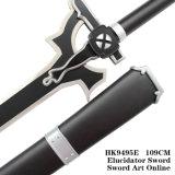 Шпага Elucidator 109cm Kirigaya Kazuto Kirito искусствоа шпаги он-лайн черная