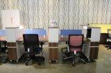 Mesa de escritório superior das estações de trabalho da divisória da equipe de funcionários do estilo moderno (PSEN-WS-2017-12)