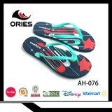 Colores de la PE Venta caliente al aire libre Dama Flip Flop zapatillas