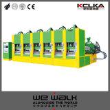 EVA 슬리퍼 자동 귀환 제어 장치를 가진 유일한 단화 사출 성형 기계