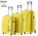 Bubuleの熱い販売3の部分PPのトロリースーツケースの圧延の荷物袋一定旅行道具箱Vl301