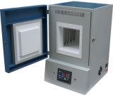 forno de mufla elevado da temperatura 1800c para o tratamento térmico