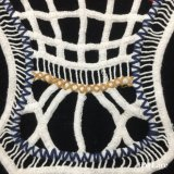 35*31cm Couleur magnifique collier Crochet dentelle de coton doux broderie épais Strip Fringe avec Swiss voile de dentelle pour dame accessoires du vêtement de fraisage HM207