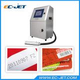 código de barras em linha e impressora Inkjet contínua automática de máquina de impressão da tâmara