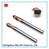 Alto desempenho de carboneto de tungstênio CNC PCD ponta esférica Mill