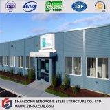 Construction structurale en acier préfabriquée multifonctionnelle d'exposition de véhicule de grande envergure