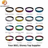I ricordi che si raccolgono possono braccialetto impresso del silicone di marchio