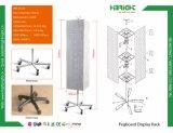 Металлический провод корзины дисплей полки подставка для установки в стойку
