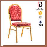 Round Retour Hotel Banquet chaise empilable acier aluminium BR-A003
