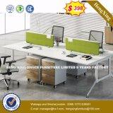 2 sièges forme de L'Office de poste de travail du personnel de Cluster Partition (HX-8N0622)
