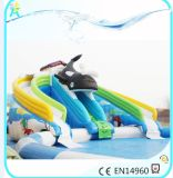 Dia van Inflatables van het water de Grote Opblaasbare met Ventilator