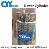 Cilindro industrial e médico do vaso Dewar do gás do oxigênio do nitrogênio