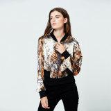 куртка самых последних оптовых женщин способа хаки напечатанная