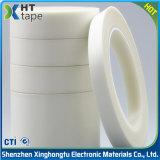 Nastro termoresistente della fibra del panno di vetro del silicone dell'isolamento bianco del nastro adesivo