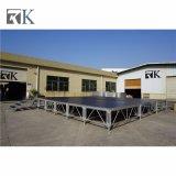 Fase di alluminio 2018 della strumentazione portatile della fase di Rk con i piedini registrabili