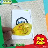 반투명 근접 125kHz T5577 ID RFID Keychain 범선 keyfob